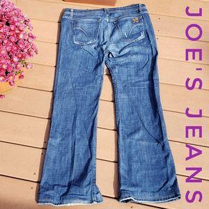 JOE'S JEANS Wide Leg Harvey Wash Womens Size 31